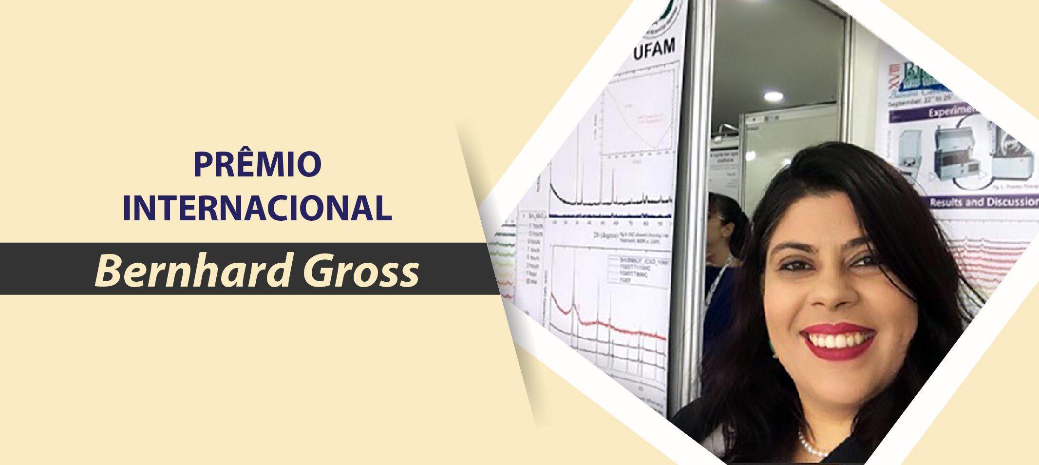 Trabalho produzido por mestranda da Ufam foi premiado durante o XVIII Encontro da Sociedade Brasileira de Pesquisa em Materiais