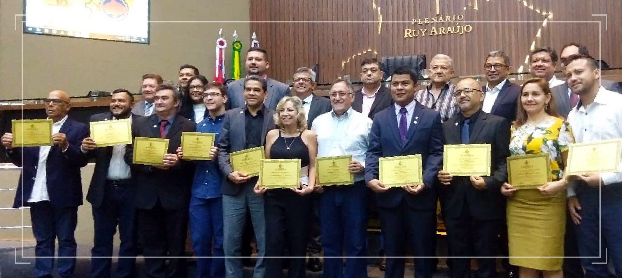 Professores do curso de Engenharia de Pesca da Ufam são homenageados na Assembleia Legislativa do Estado do Amazonas