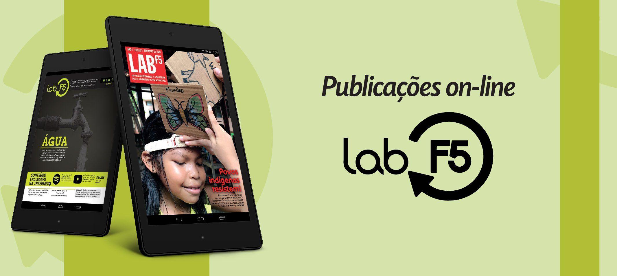 LabF5 - Publicações produzidas pelo 'Laboratório Experimental de Jornalismo em Rede' estão disponíveis online