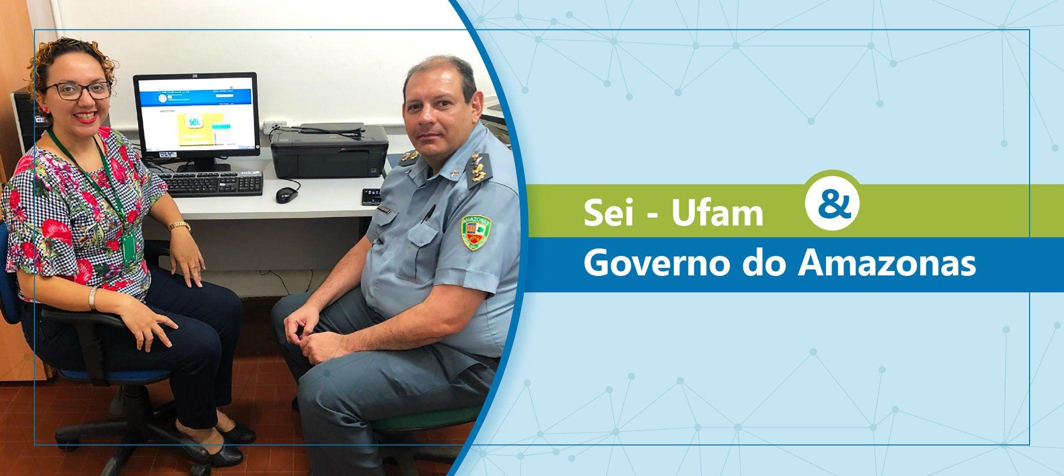 Sistema Eletrônico de Informações na Ufam recebe visita técnica da Polícia Militar