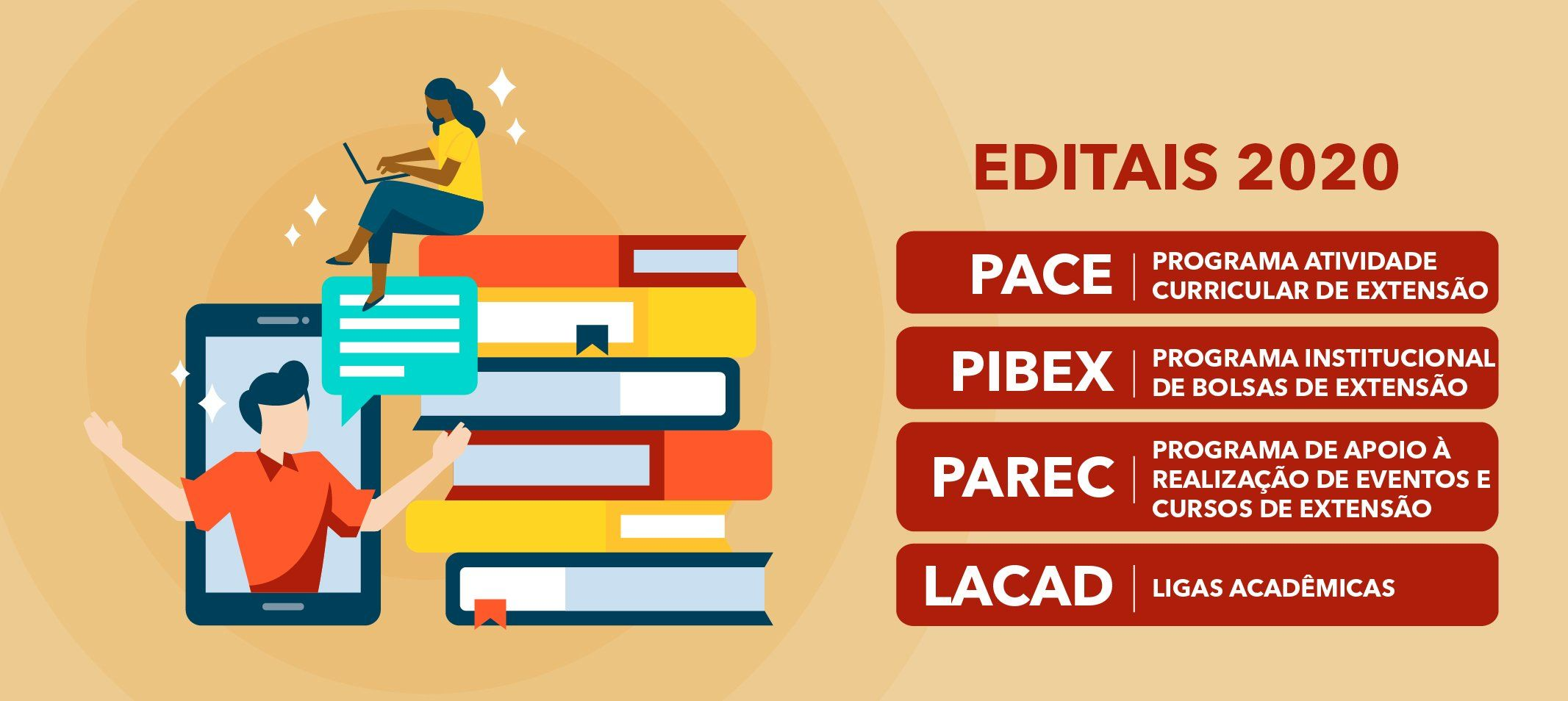 Submissões das propostas para os Editais da Proext vão até dia 27 de janeiro