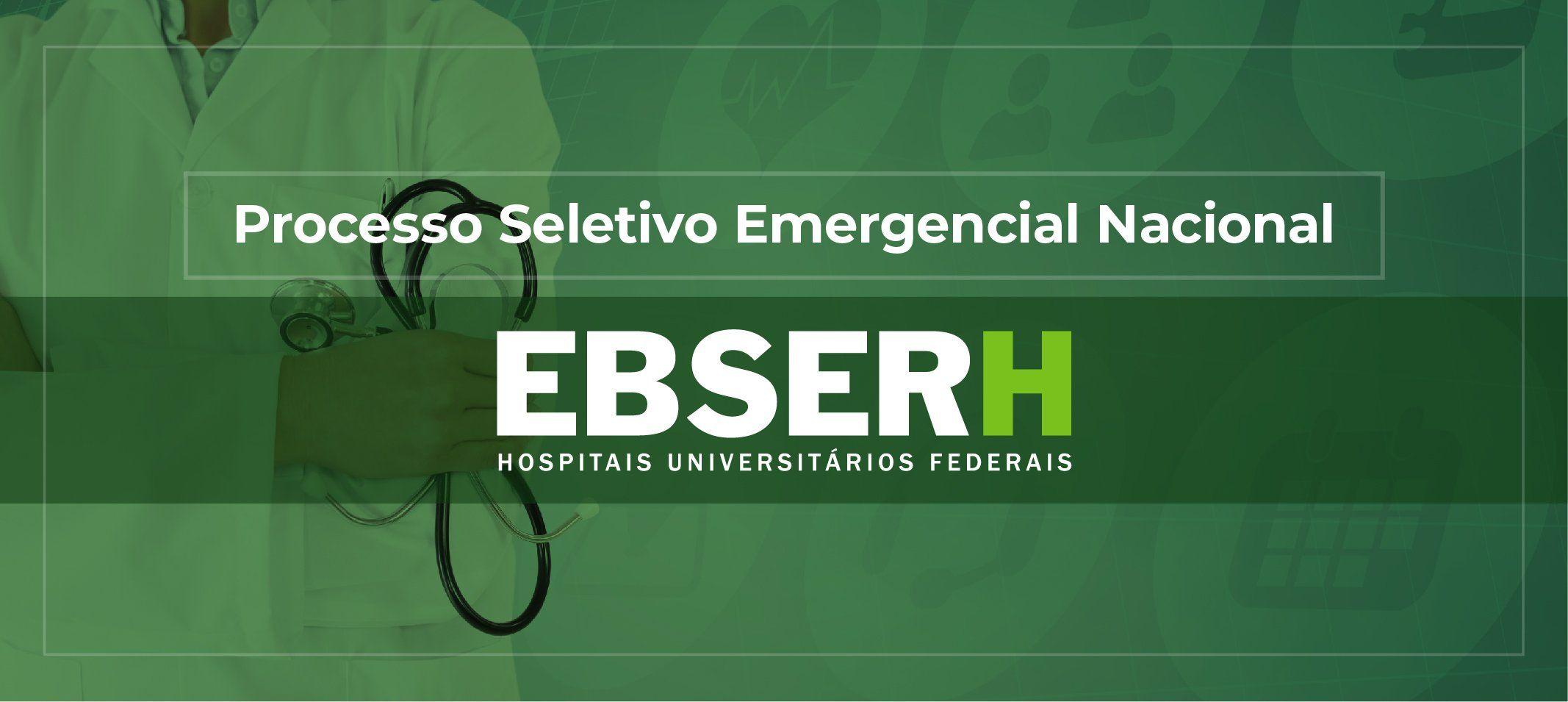 Ebserh realiza processo seletivo emergencial para combater pandemia de covid-19