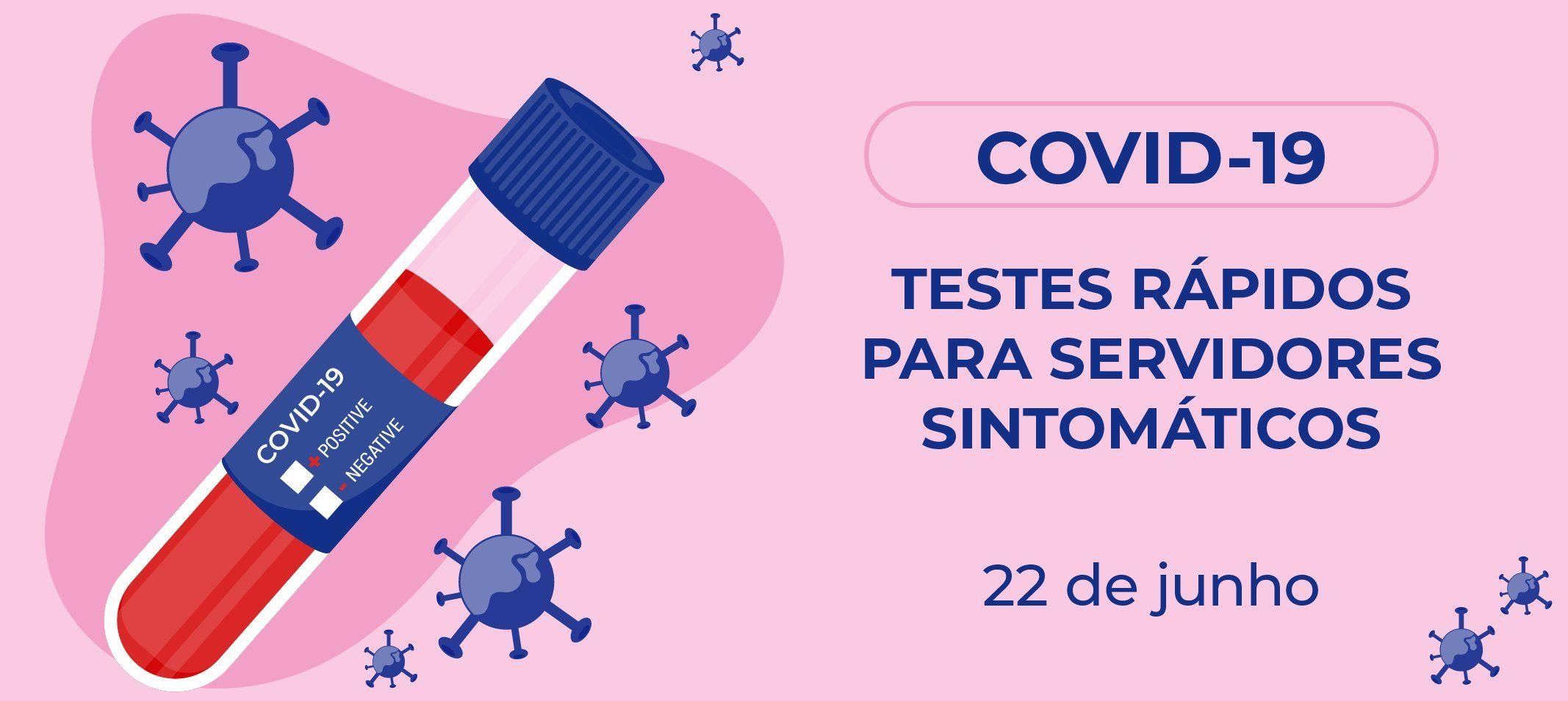 Ufam oferece testes rápidos de covid-19 para servidores sintomáticos