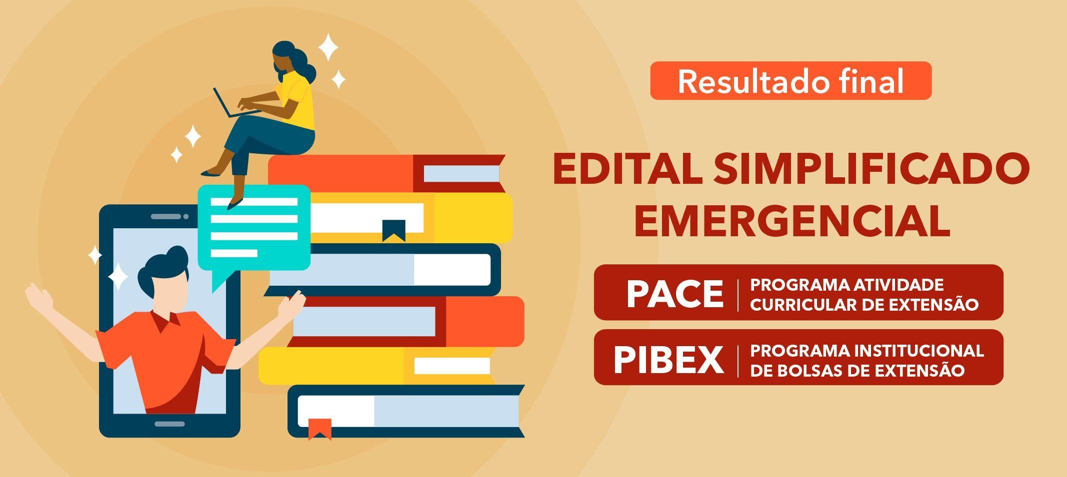 Proext divulga resultado final dos editais de Pibex e Pace Emergenciais