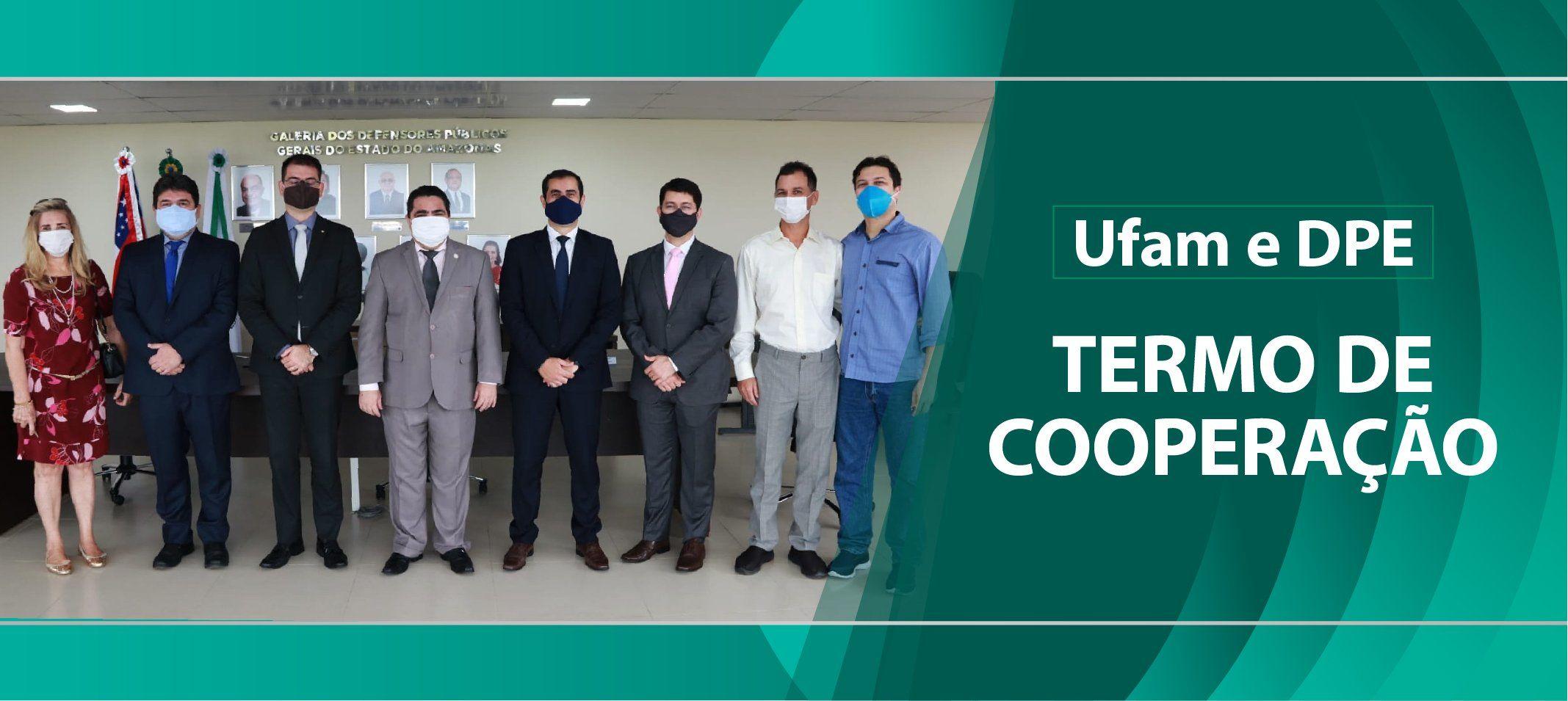 Ufam firma parceria técnica com a Defensoria Pública Estadual (DPE)