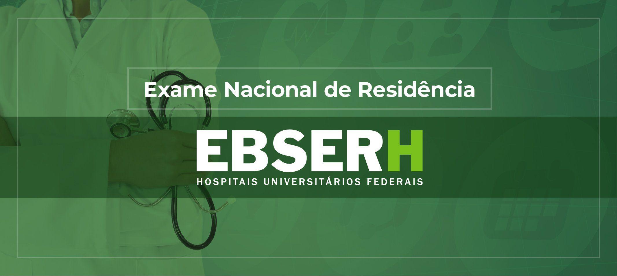 Ministério da Educação lança Exame Nacional de Residência Ebserh (Enare)
