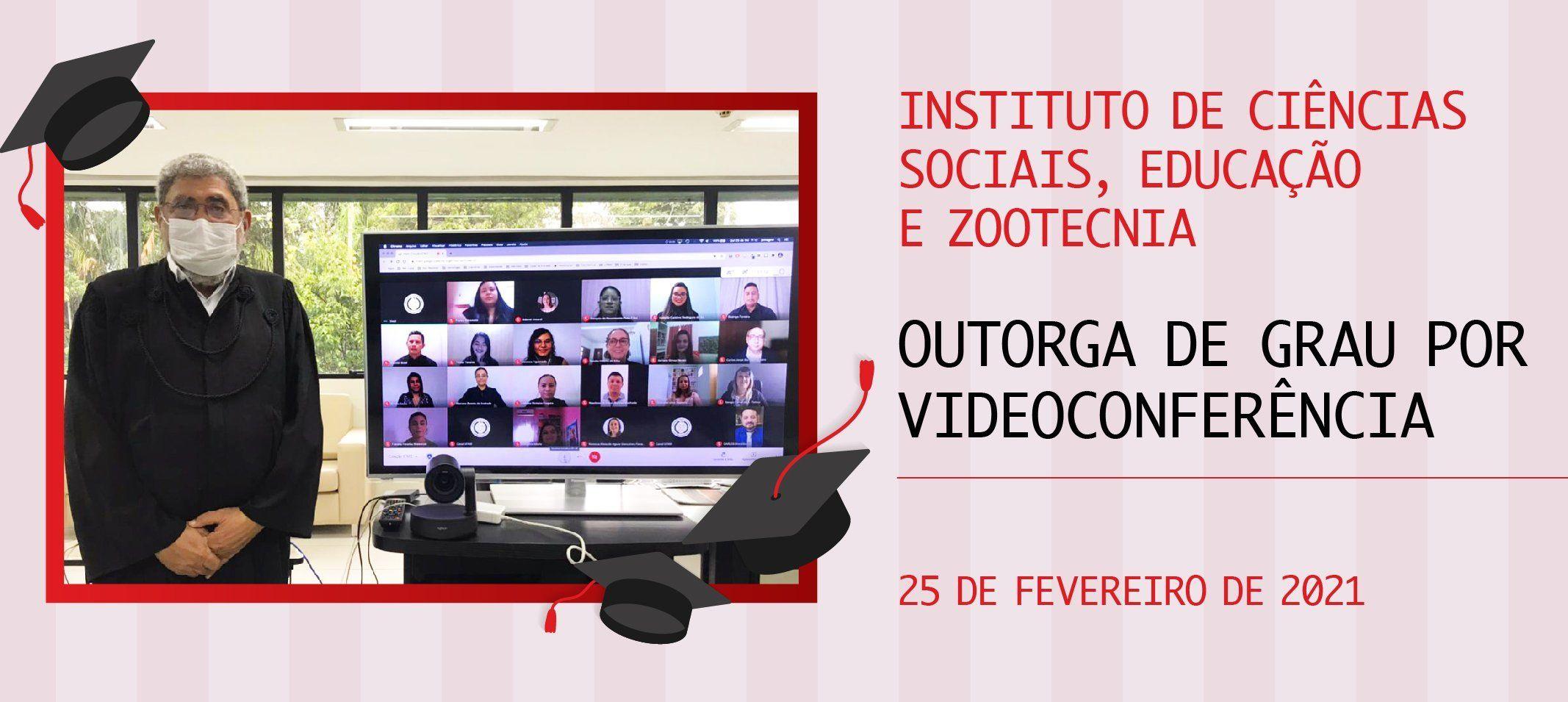 Ufam outorga grau por videoconferência a formandos do Icsez, em Parintins
