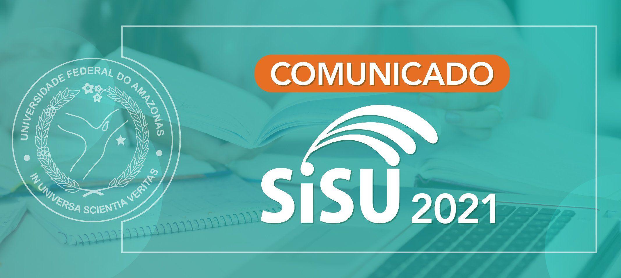 Ufam participará da segunda edição 2021 do SISU