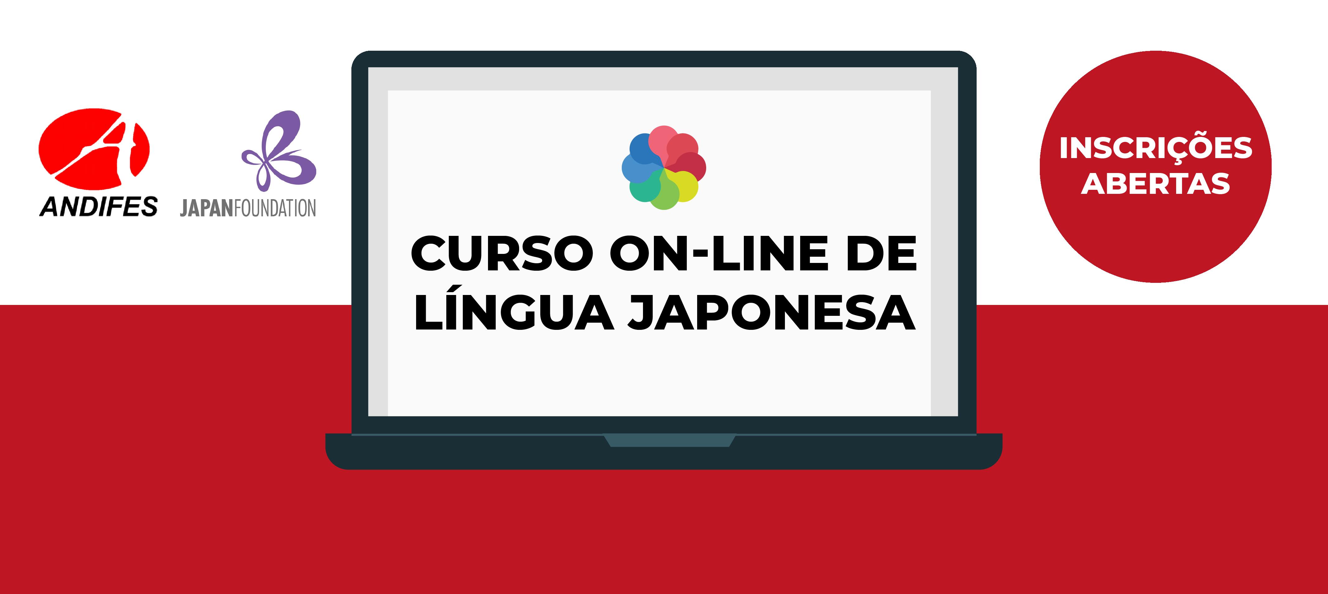 Andifes oferta curso on-line de língua japonesa. Inscrições de 20 a 30 de setembro